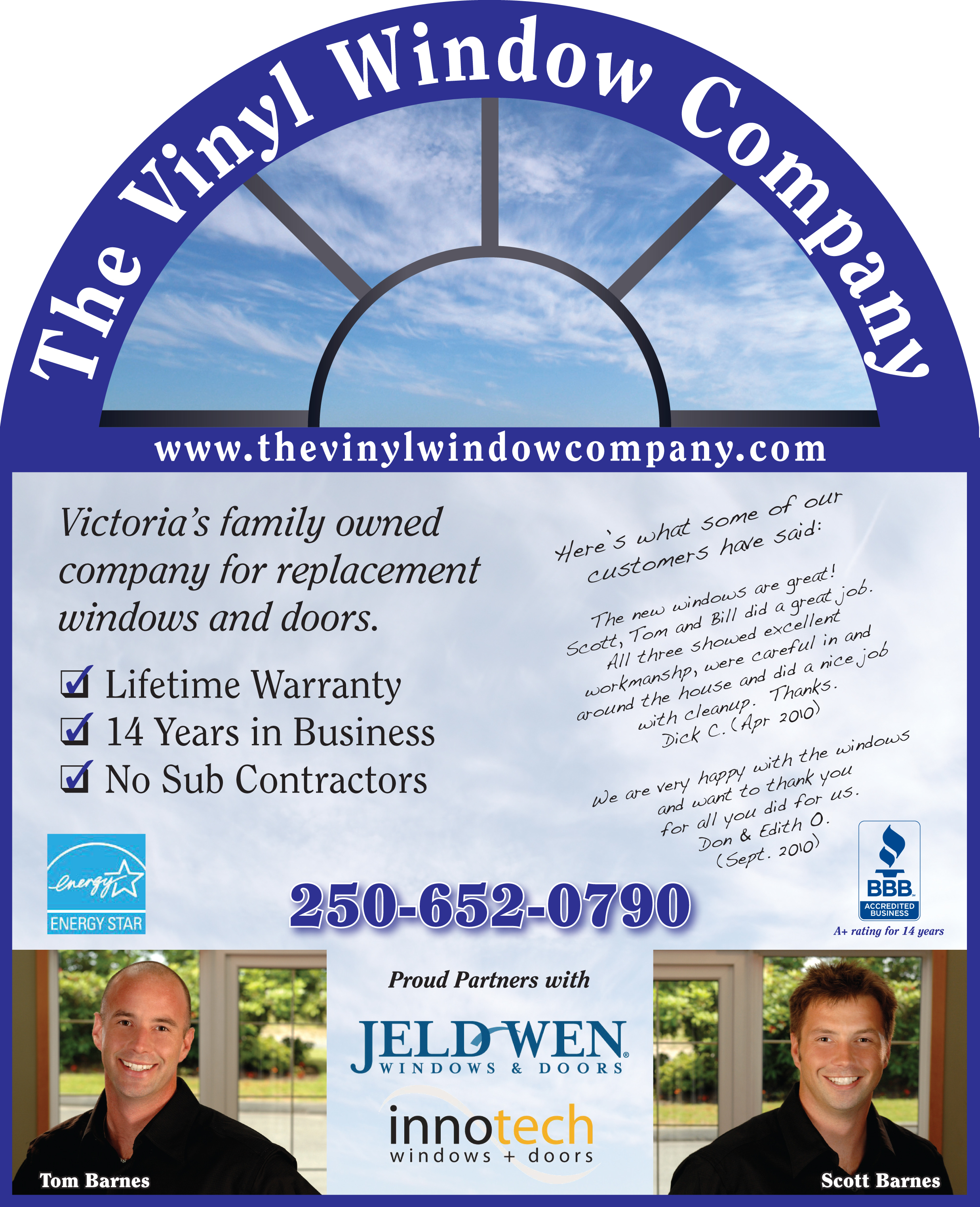 Advertising scribe graphics inc for Window company